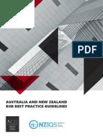 ANZIQS BIM Best Practice Guidelines Nov2018 (1)