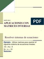 Mate 3012 Aplicaciones de Matrices Inversas Estud2