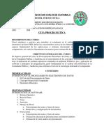 Programa de Procesamiento Electronico de Dato 2018