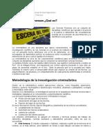 Las Ciencias Forenses ¿Qué es - Conicet.pdf