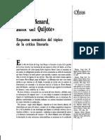 Pierre Menard Esquema Semántico