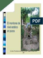 Diagnóstico de La Calidad de Agua en Pozos Excavados de Tres Comunidades Del Valle de Yehuare, Honduras