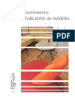 Entablados de Madera