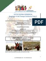 Domingo VI Del Tiempo Ordinario Ciclo C