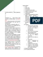 Nota de Evolución Ginecologia y Patologico