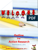 Outline of Action Research