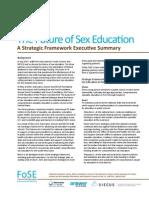 The Future of Sex Education Pre K Thru 12th Grade