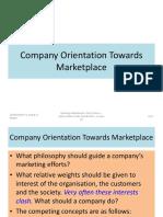 Company Orientation Towards Marketplace[3807]