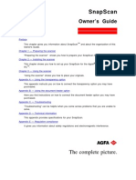 Snapscan Manual 1996-07-18 En