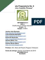 Ada 2 Clasificacion Del Software Educativo 2