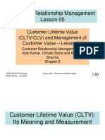 CRM - Lesson 05 - Customer Lifetime Value[3571]