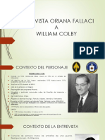 William Colby - Norberto Cala