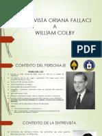 William Colby - Norberto Cala