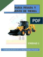 Generalidades de La Maquinaria Pesada u.1