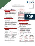 Evaluación de IPERC