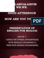 ppt english for biologi
