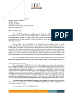 NAACP Legal Defense Fund Letter to the Morgan County Commission