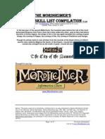 Master Skill List v1.3