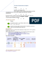Conceptos Fundamentales de Álgebra
