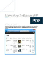 Get Started With Azure Cloud Services and ASP.net