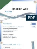 Tema 2 HTML, XML y CSS Completo