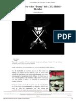 6 v de Vendetta vs Los _Trump_ Del s. XX_ Hitler y Thatcher