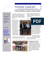 10. 9 10 Courier Newsletter