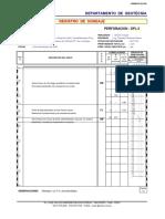 Registro de Sondajes DPL