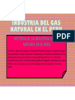 Industria Del Gas Natural en El Peru