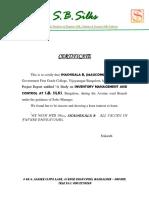 Company Certificateb efw