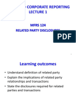 Lecture 1- MFRS 124 Related Party Revised 1