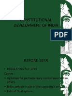 Constitutional Development of India