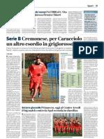 La Provincia Di Cremona 16-02-2019 - Serie B