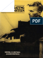 Hintikka - Investigating Wittgenstein-Blackwell Publishers (1986)