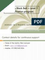 Six sigma BB - Module 1&2 .pdf