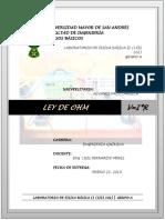 LEY DE OHM FIS-102