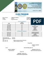 Class Program4