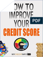 How to Improve Your Credit Score eBook