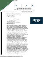Bento Prado Jr. - Hegel em Paris - Folha de SPaulo.pdf