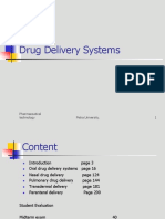 Drug Delivery Course