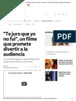 _Te juro que yo no fui_, un filme que promete divertir a la audiencia _ El Informador __ Noticias de Jalisco, México, Deportes & Entretenimiento