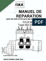 Manuel de réparation moteur 432, 582