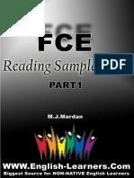 FCE Reading Sample Tests