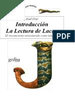 Dor- Introducción a  la lectura de Lacan