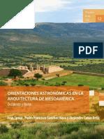 Orientaciones Astronomicas en La Arquitectura