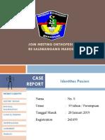 02 Feb 2019 RS Salewangang Maros [Orthopedi]