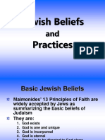 Jewish Beliefs and Practices-1