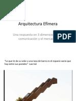 13-ArquitecturaEfimera