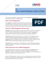 Cleared - Ah - Monitoring Indicator Disaggregation