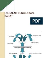 TAJUK 3 Falsafah Pendidikan Barat Islam Timur